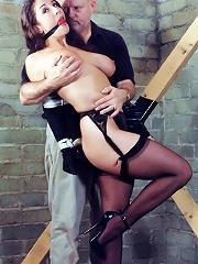 Public BDSM Action
